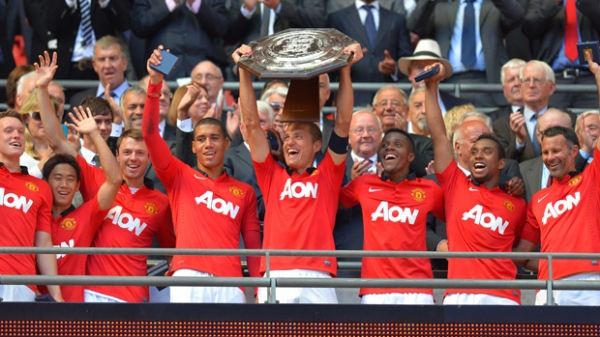 FA COMMUNITY SHIELD 2013 - MANCHESTER UNITED